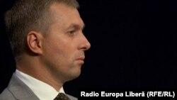 Vladislav Gribincea la o dezbatere în studioul Europei Libere