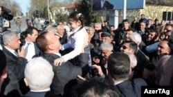 İlham Əliyev Lənkəranda