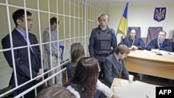 Євген Єрофеєв й Олександр Александров в суді, архівне фото
