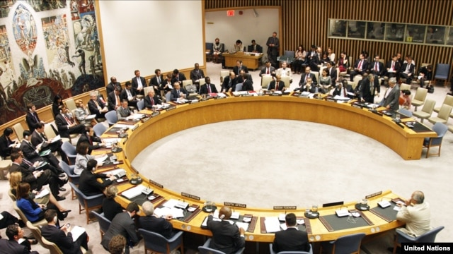 The Security Council meets on the situation in Syria on April 27.
