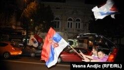Slavlje u Beogradu zbog pobede Tomislava Nikolića na predsedničkim izborima