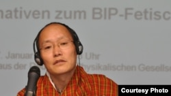 "Bhutanese intellectual and ""happiness"" ambassador Karma Ura"