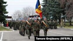 Soldaţi moldoveni