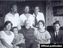 Meri, Svetik, bunicul Pavel, Niuta & Teo Richter