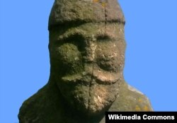 Скульптура половецького воїна 12-го століття, Луганськ