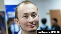 Блогер Әділ Нұрмақов. Алматы, 13 қазан. 2012 жыл.