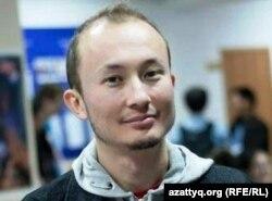 Казахский блогер Адиль Нурмаков.