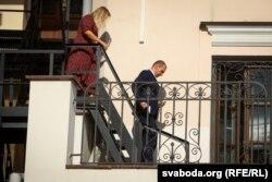 Прадстаўнікі амбасады Швэцыі