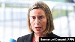 Shefja për politikë të jashtme e Bashkimit Evropian, Federica Mogherini.