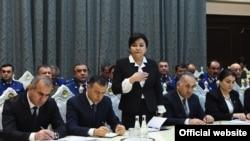 Акс аз хадамоти матбуоти президенти Тоҷикистон