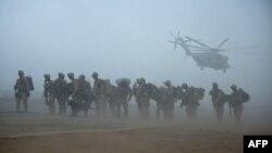 Ілюстрацыйнае фота. Дэсантнікі ЗША ў Аўганістане, 2009