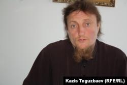 Отец Софроний. Поселок имени Туймебаева Илийского района Алматинской области, 24 июля 2013 года.