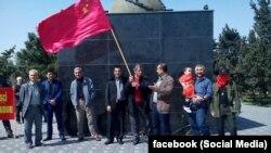 Kommunistlər 1 May bayramına toplaşdılar -- 2015