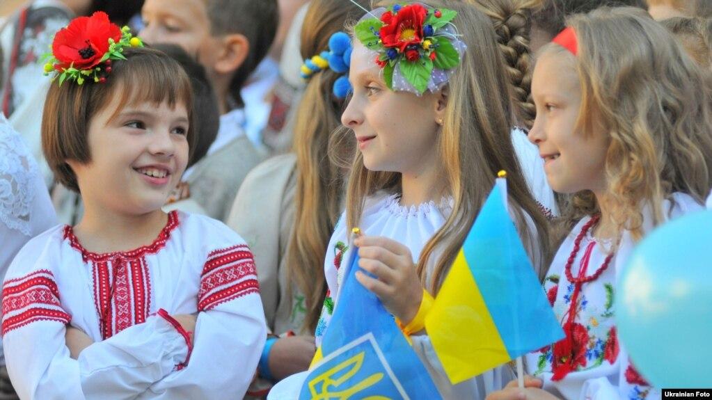 День знаний 1 сентября во Львове