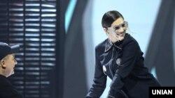 Виконавиця Maruv під час першого півфіналу Національного відбору на «Євробачення-2019»