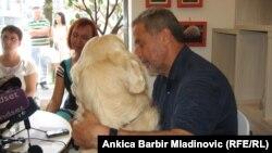 Gradonačelnik na otvaranju Životinjskog kutka, foto: Ankica Barbir Mladinović