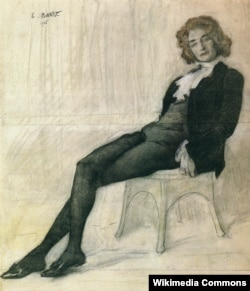 Лев Бакст. «Портрет Зинаиды Гиппиус» 1906