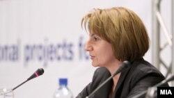 Вицепремиерката Теута Арифи.