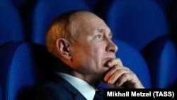 Президент России Путин посетил Музей Победы на Поклонной горе. Иллюстративное фото