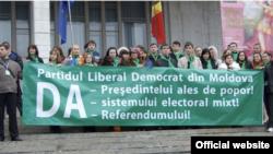 Meeting al Partidului Liberal Democrat