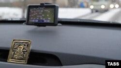GPS-навигатор в российском автомобиле в Иваново