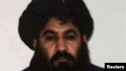 """""""Талибанның"""" көзй жойылған басшысы Мулла Ахтар Мансур."""