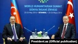 Встреча президентов Азербайджана и Турции