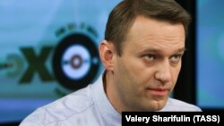 Aleksei Navalny, 40, was handed a five-year suspended sentence in the initial trial in the case, which he said was politically motivated punishment for his opposition activity.