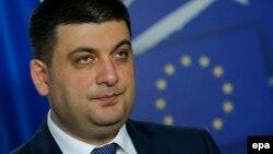 Володимир Гройсман, голова Верховної ради України (архівне фото)