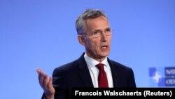 Генэральны сакратар NATO Енс Столтэнбэрґ