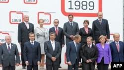 Восточноевропейские лидеры празднуют двадцатилетие звездного часа