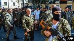 Проруски сепаратисти во Доњецк.