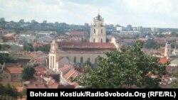 Вильнюс. Вид на старый город