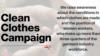 Clean Clothes Campaign sau cum sînt încălcate drepturile muncitorilor din industria textilă în R. Moldova