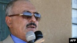 President Ali Abdullah Saleh's Congress Party will share power under the deal.