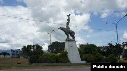 Статуя Марии Лионсы в Чивакоа. Венесуэла