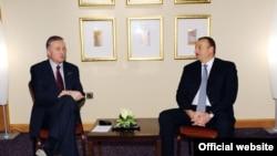 İlham Əliyevin Budapeştdə Çexiya Respublikasının Baş naziri Mirek Topolanek ilə görüşü, 26 yanvar 2009