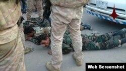 Фото бойцы Асада арестованы