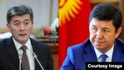 Аргынбек Малабаев менен Темир Сариев