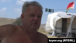 Юрій, турист із Білорусі