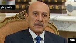 Египеттің бұрынғы вице-президенті Омар Сүлеймен.