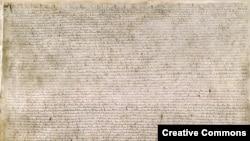 Копия Великой хартии вольностей в Британском музее