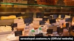 Продаж сирів у Севастополі, ілюстративне фото