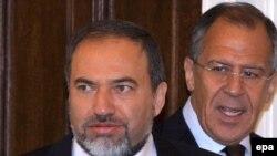 Зустріч російського міністра закордонних справ Сергія Лаврова з його ізраїльським колегою Авігдором Ліберманом, Москва 2 червня 2009