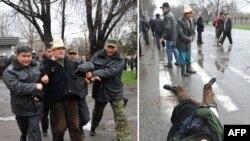 Бишкекдаги тартибсизликлар пайти, 7 апрел 2010 йил