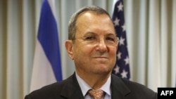 Израильдің қорғаныс министрі Эхуд Барак.