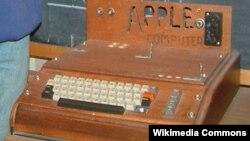 Apple 1 компьютері.