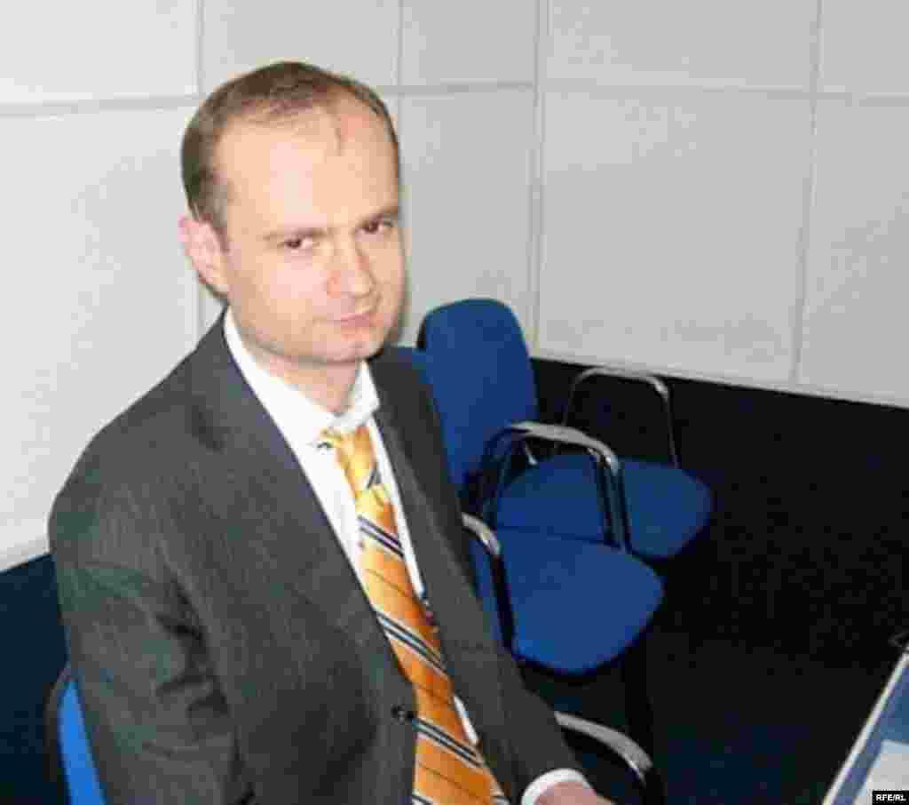 Руководитель Московского Общества белорусской культуры Андрей Макагон