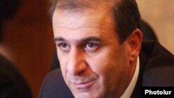 Новый губернатор Арагацотнской области Габриел Гезалян (архив)