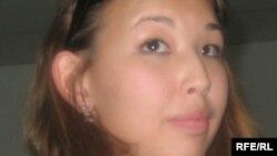 Әйгерім Жәкішева, Мұхтар Жәкішевтің қызы. Алматы, 9 маусым 2009 ж.